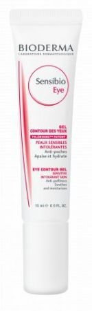Bioderma Sensibio Eye Gel, kremowy żel pod oczy, 15 ml